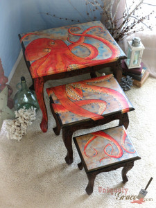 Small Nesting Coffee Table