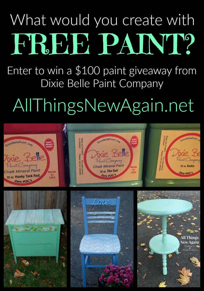 Oh Those Hot Pink Drawers A New Diy Video And An Awesome Dixie Belle Paint Giveaway Ay For 2016 All Things Again